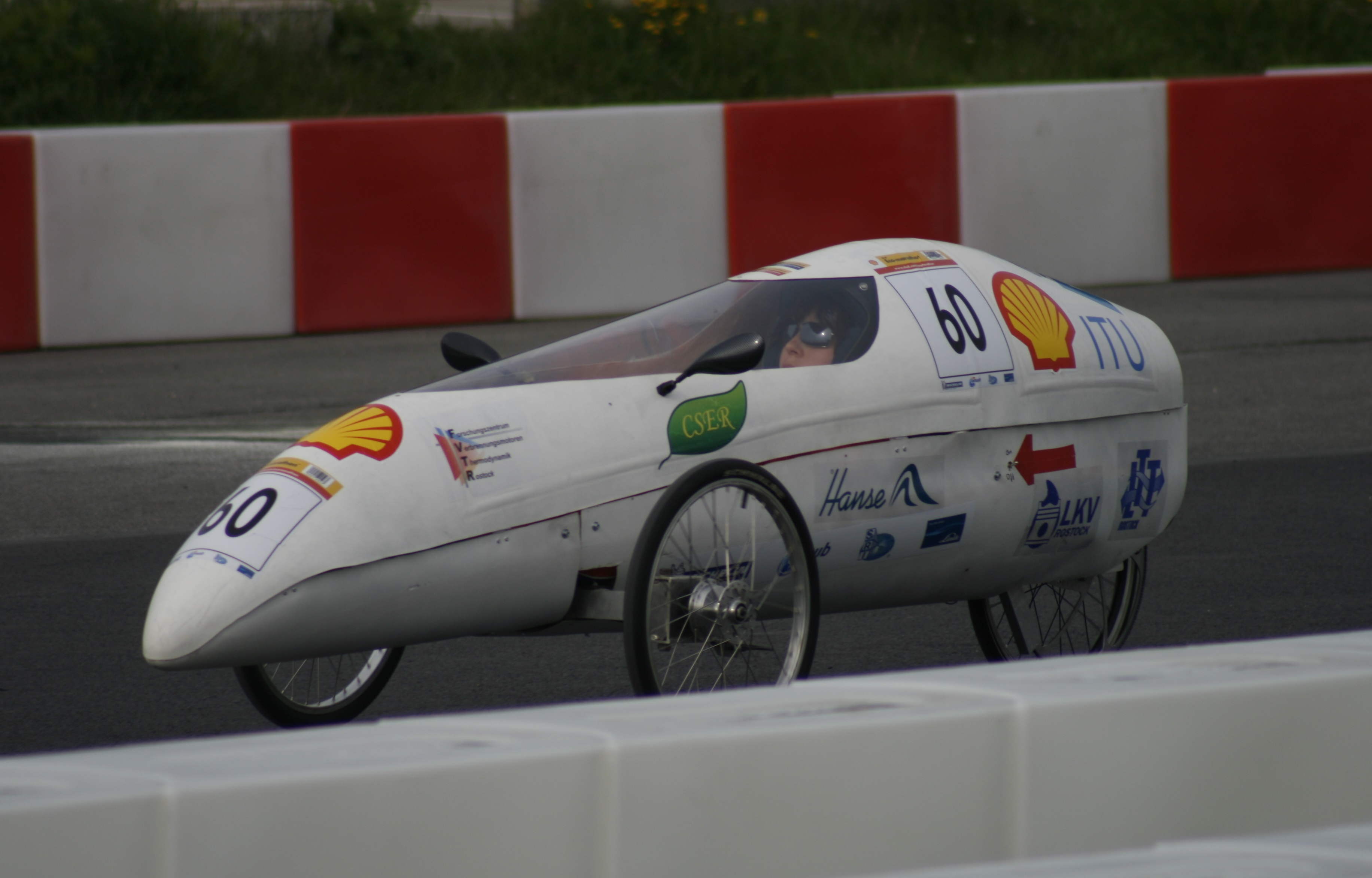 Das Fahrzeug 2012